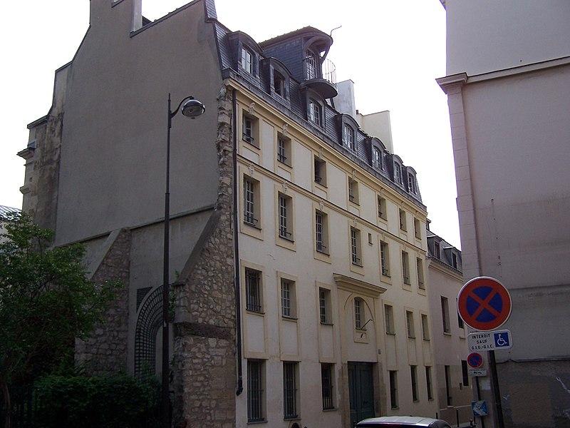Photo du Monument Historique Hôtel Saint-Haure  ou des Dames de Sainte-Aure situé à Paris 5e Arrondissement