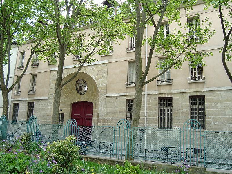 Photo du Monument Historique Ancien hôtel Scipion ou ancienne boulangerie des Hôpitaux de Paris situé à Paris 5e Arrondissement