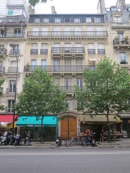 Photo du Monument Historique Hôtel situé à Paris 5e Arrondissement