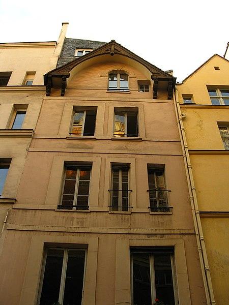 Photo du Monument Historique Maison, dite maison des trois porcelets situé à Paris 5e Arrondissement