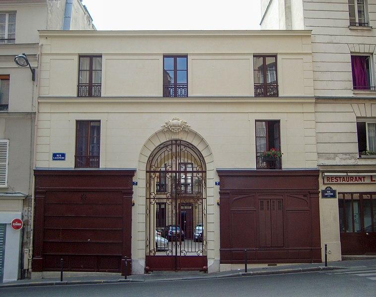 Photo du Monument Historique Immeuble (ancien hôtel Poufour du Petit) situé à Paris 5e Arrondissement