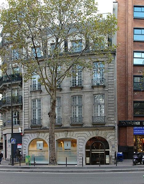 Photo du Monument Historique Immeuble situé à Paris 5e Arrondissement