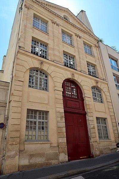 Photo du Monument Historique Imprimerie royale de Musique situé à Paris 5e Arrondissement