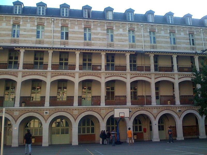 Photo du Monument Historique Lycée Louis-le-Grand situé à Paris 5e Arrondissement