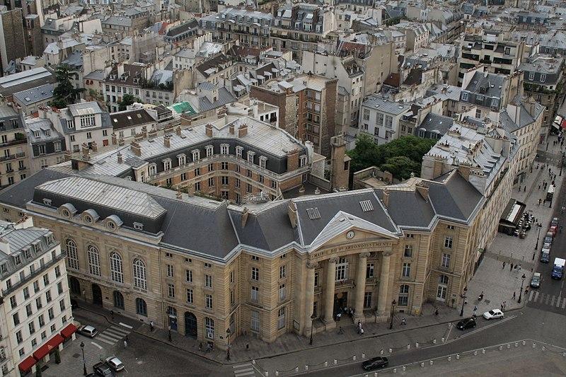 Photo du Monument Historique Mairie annexe du cinquième arrondissement situé à Paris 5e Arrondissement