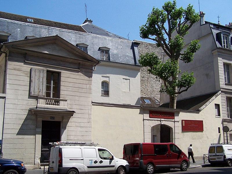 Photo du Monument Historique Monastère des Bénédictins anglais situé à Paris 5e Arrondissement