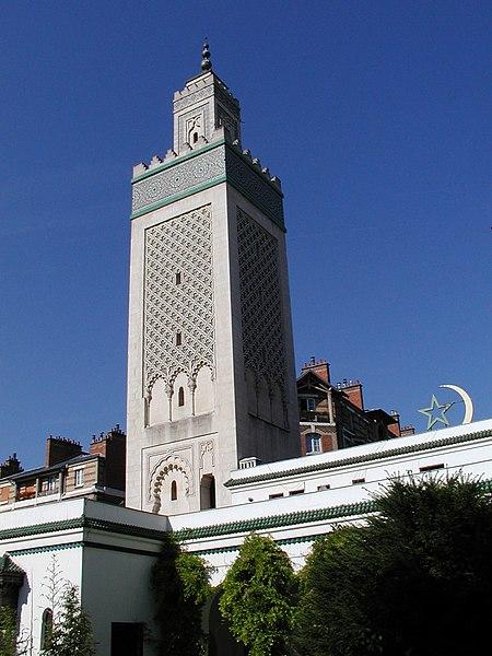 Photo du Monument Historique Mosquée de Paris et Institut musulman situé à Paris 5e Arrondissement