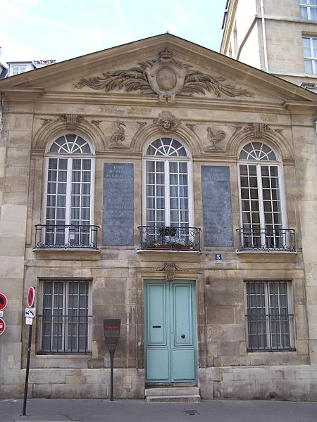 Photo du Monument Historique Pavillon situé à Paris 5e Arrondissement