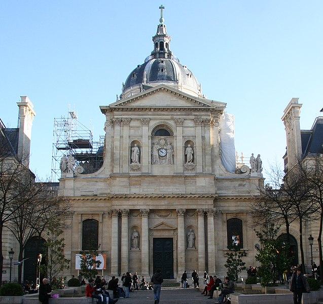 Photo du Monument Historique Sorbonne (La) situé à Paris 5e Arrondissement