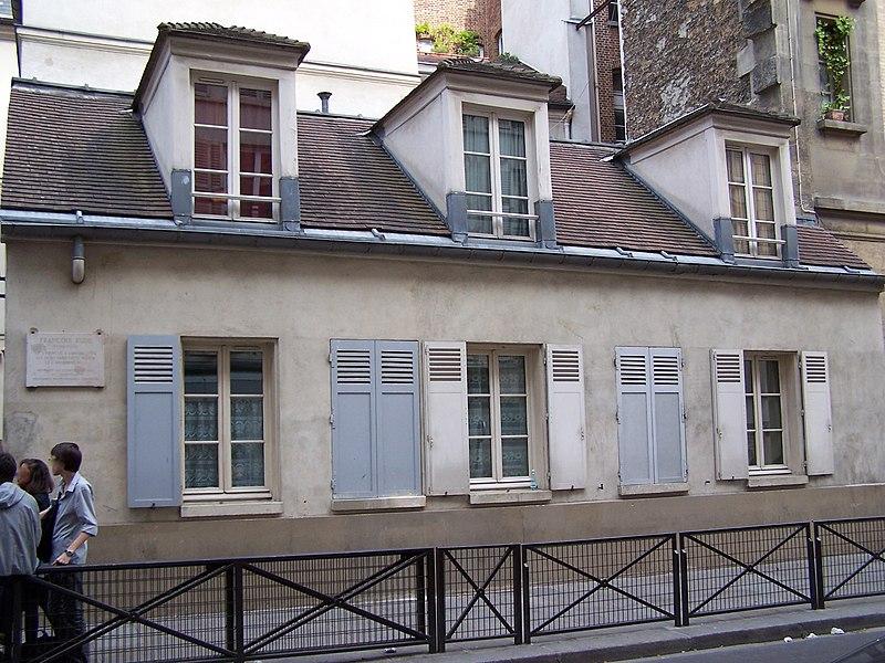 Photo du Monument Historique Maison du sculpteur Rude situé à Paris 5e Arrondissement