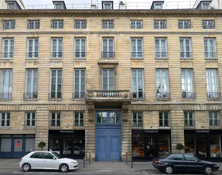 Photo du Monument Historique Ancien Hôtel de Clermont-Tonnerre situé à Paris 5e Arrondissement