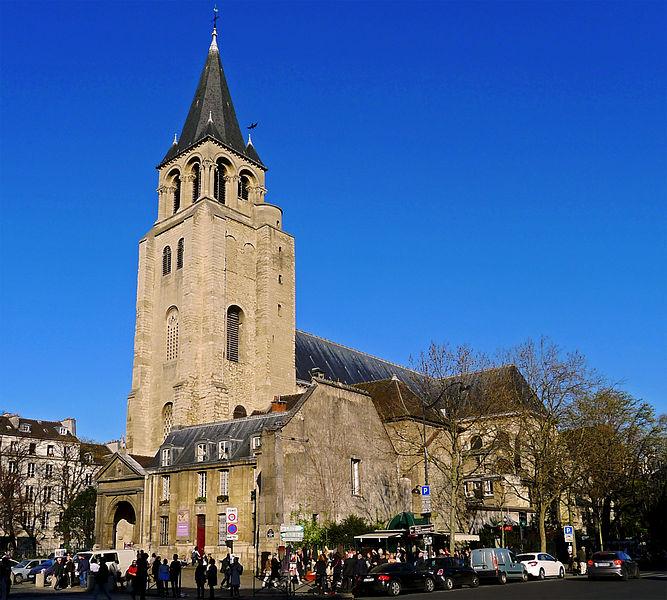 Photo du Monument Historique Abbaye Saint-Germain-des-Prés situé à Paris 6e Arrondissement