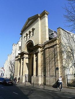 Photo du Monument Historique Académie de Médecine  ou chapelle ukrainienne Saint-Wladimir situé à Paris 6e Arrondissement