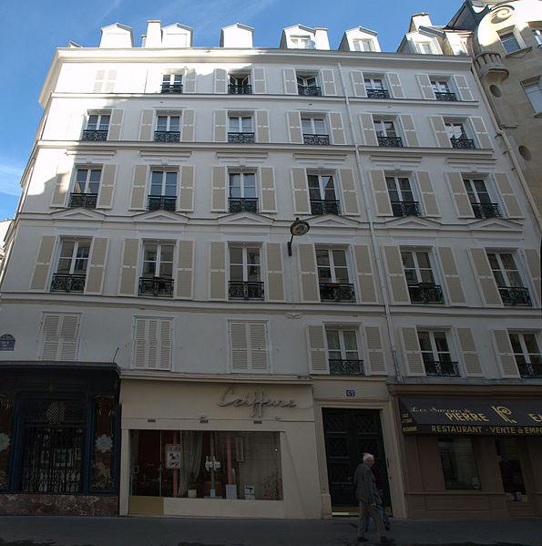 Photo du Monument Historique Boucherie situé à Paris 6e Arrondissement