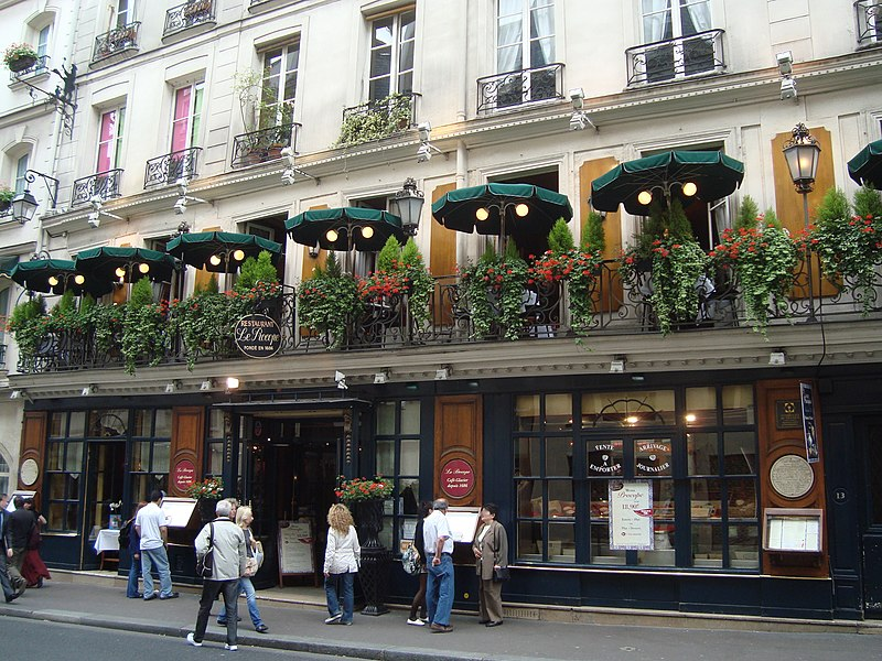 Photo du Monument Historique Café Le Procope situé à Paris 6e Arrondissement