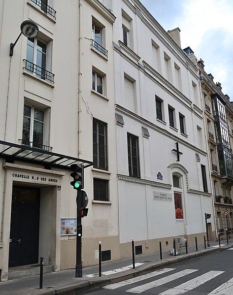 Photo du Monument Historique Chapelle Notre-Dame-des-Anges situé à Paris 6e Arrondissement