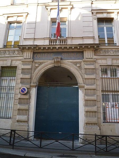Photo du Monument Historique Collège Stanislas situé à Paris 6e Arrondissement
