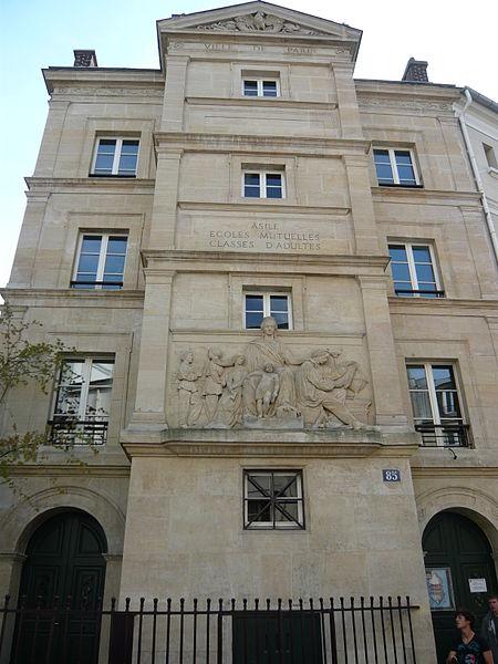Photo du Monument Historique Ecole situé à Paris 6e Arrondissement