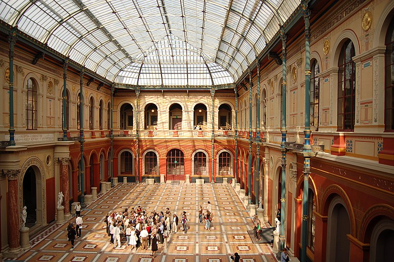 Photo du Monument Historique Ecole Nationale Supérieure des Beaux-Arts (ancien couvent des Grands Augustins) situé à Paris 6e Arrondissement