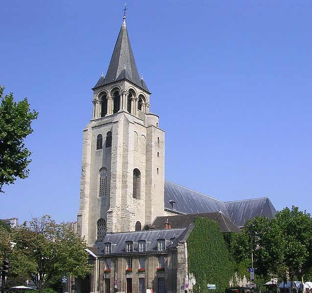 Photo du Monument Historique Eglise Saint-Germain-des-Prés situé à Paris 6e Arrondissement