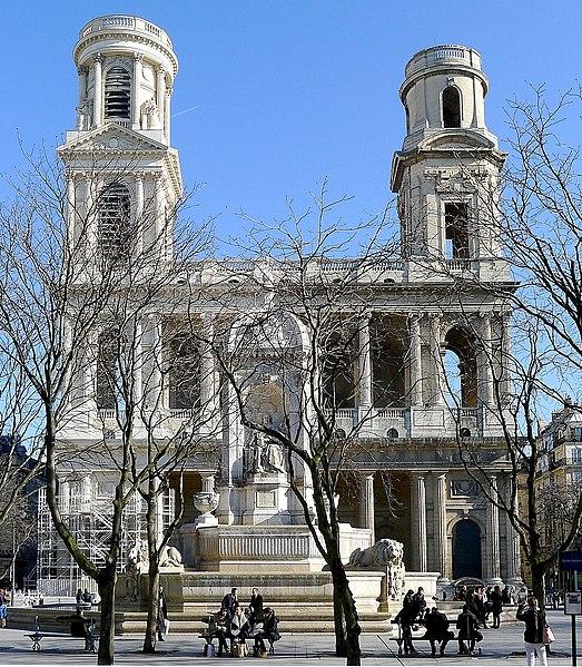 Photo du Monument Historique Eglise Saint-Sulpice situé à Paris 6e Arrondissement