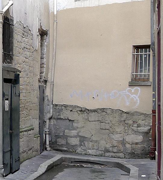Photo du Monument Historique Enceinte de Philippe-Auguste situé à Paris 6e Arrondissement