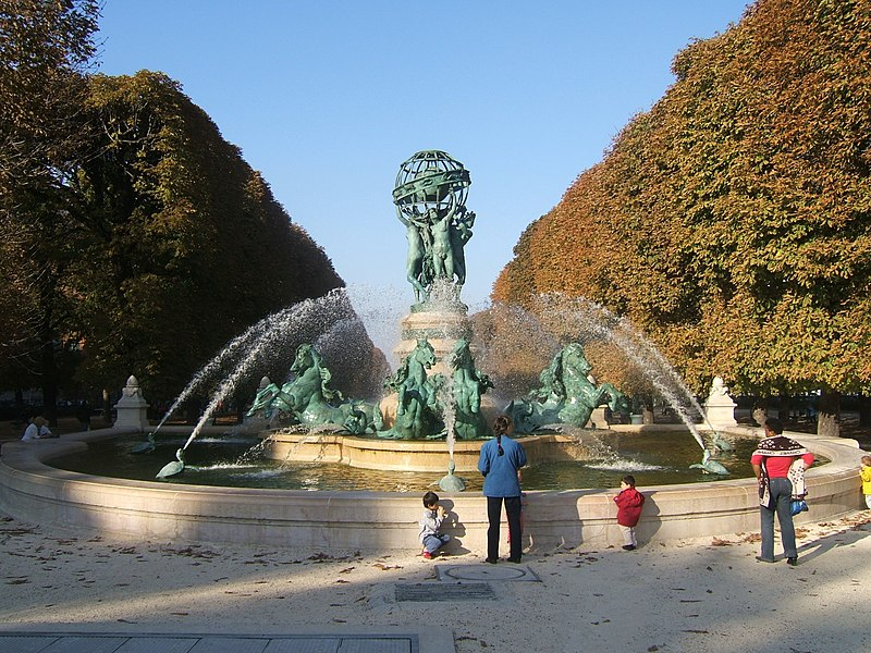 Photo du Monument Historique Fontaine de Carpeaux situé à Paris 6e Arrondissement