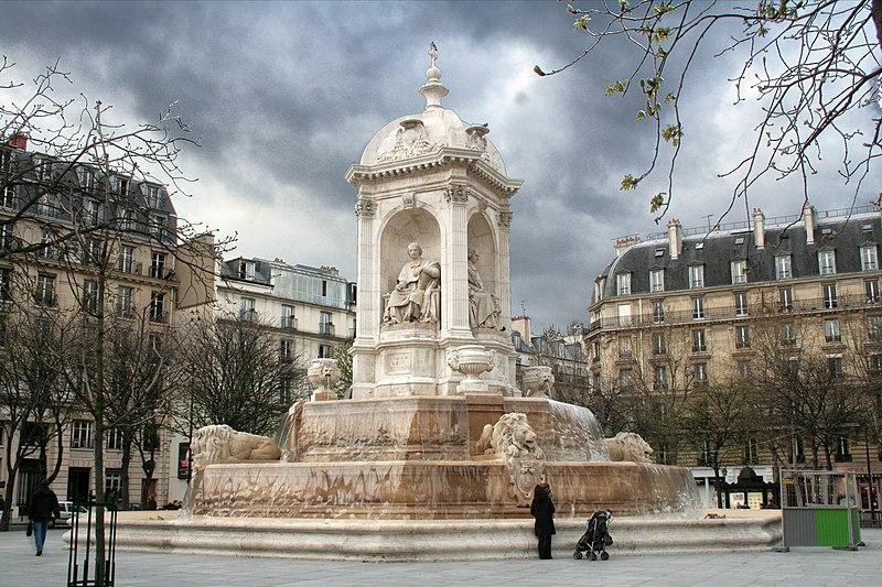 Photo du Monument Historique Fontaine du 19e siècle situé à Paris 6e Arrondissement