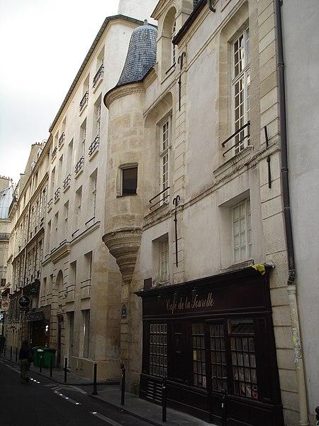 Photo du Monument Historique Hôtel des Abbés de Fécamp ou Hôtel de Fécamp situé à Paris 6e Arrondissement
