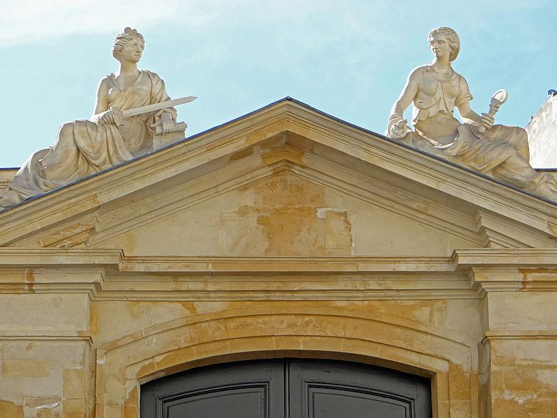 Photo du Monument Historique Hôtel de Brancas situé à Paris 6e Arrondissement