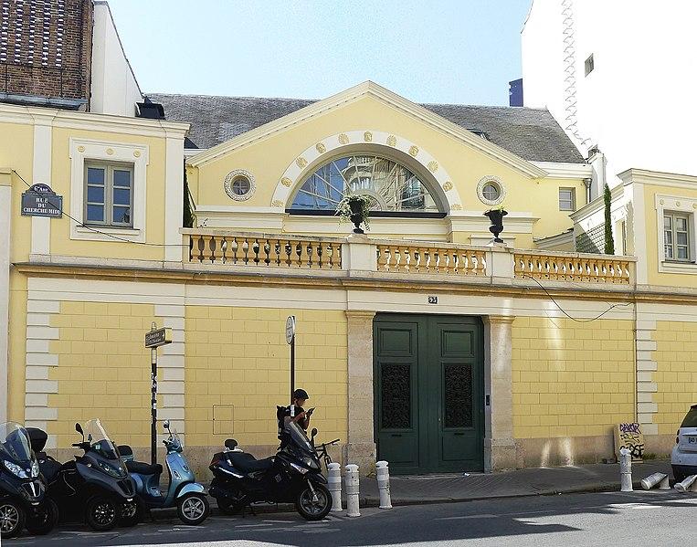 Photo du Monument Historique Hôtel de Chambon situé à Paris 6e Arrondissement