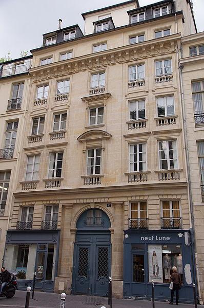 Photo du Monument Historique Hôtel du Docteur Coste situé à Paris 6e Arrondissement