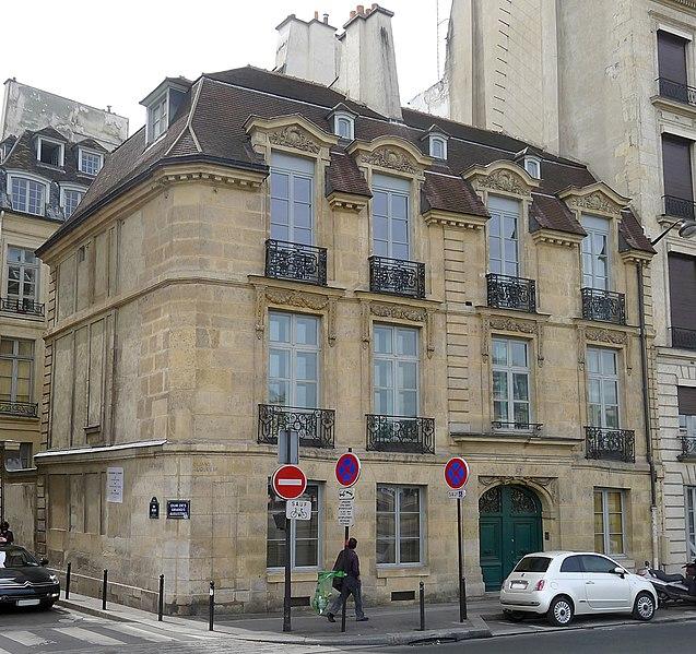 Photo du Monument Historique Ancien hôtel Feydeau de Montholon situé à Paris 6e Arrondissement