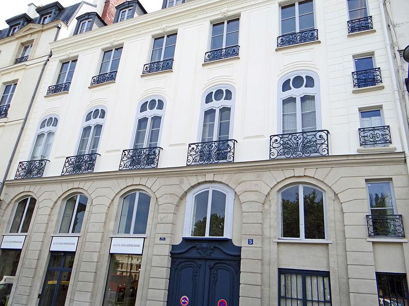 Photo du Monument Historique Hôtel de Garsaulan situé à Paris 6e Arrondissement