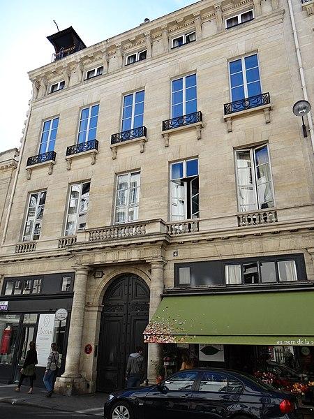 Photo du Monument Historique Hôtel de Montmorency situé à Paris 6e Arrondissement