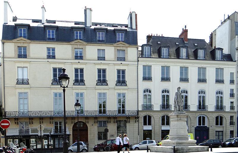 Photo du Monument Historique Hôtel de Saxe situé à Paris 6e Arrondissement