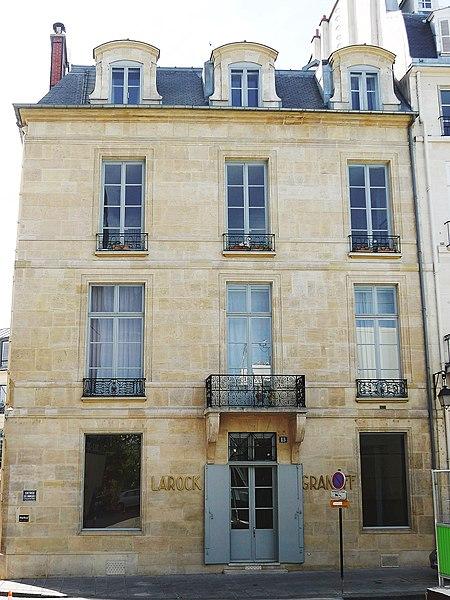 Photo du Monument Historique Hôtel Sillery-Genlis situé à Paris 6e Arrondissement