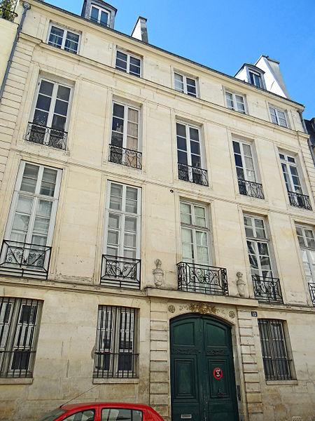 Photo du Monument Historique Hôtel de Sourdéac situé à Paris 6e Arrondissement