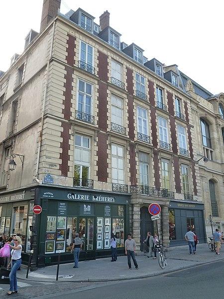 Photo du Monument Historique Ancien Hôtel de Transylvanie situé à Paris 6e Arrondissement