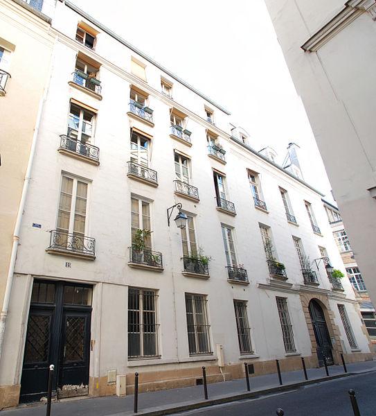 Photo du Monument Historique Immeubles situé à Paris 6e Arrondissement