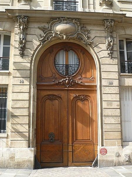 Photo du Monument Historique Hôtel de Marsilly situé à Paris 6e Arrondissement