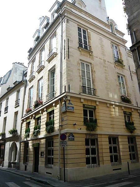 Photo du Monument Historique Maison situé à Paris 6e Arrondissement