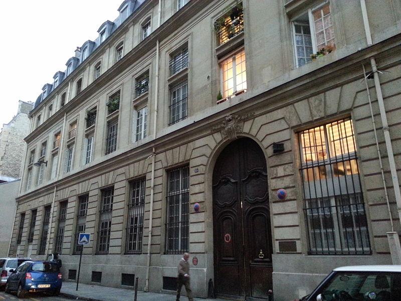 Photo du Monument Historique Immeuble du Crédit Municipal situé à Paris 6e Arrondissement