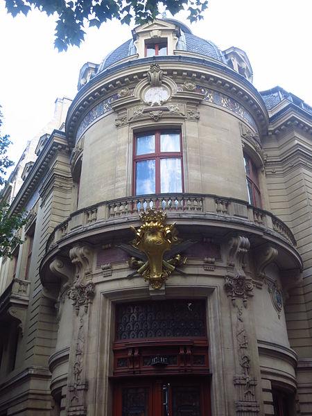 Photo du Monument Historique Immeuble du Cercle de la Librairie situé à Paris 6e Arrondissement