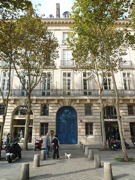 Photo du Monument Historique Maison dite de Servandoni situé à Paris 6e Arrondissement