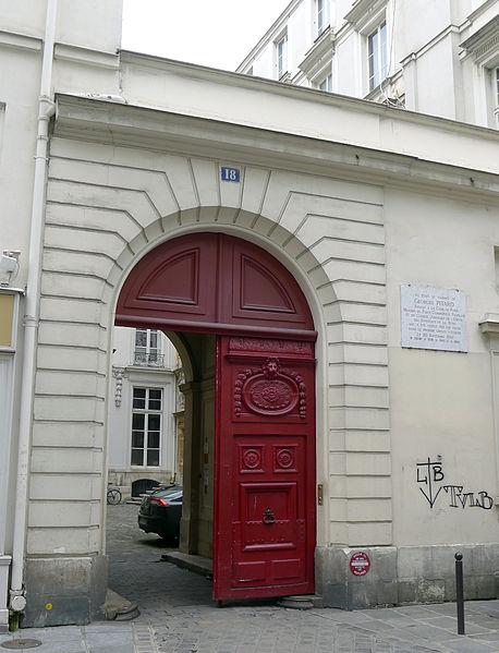 Photo du Monument Historique Maison (ancien hôtel d'Aguesseau) situé à Paris 6e Arrondissement