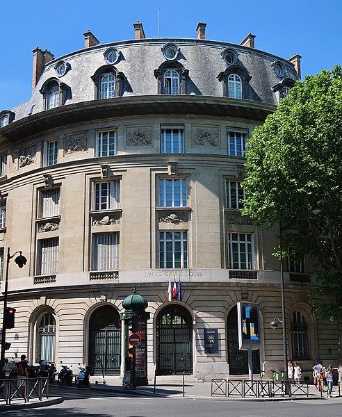 Photo du Monument Historique Lycée Saint-Louis situé à Paris 6e Arrondissement