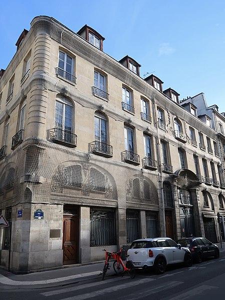 Photo du Monument Historique Musée Hébert (ancien petit hôtel de Montmorency) situé à Paris 6e Arrondissement