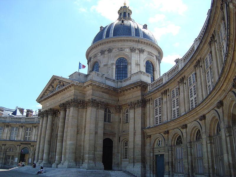 Photo du Monument Historique Palais de l'Institut (ancien collège des Quatre-Nations) situé à Paris 6e Arrondissement