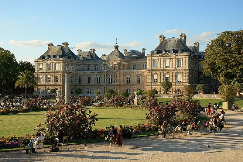 Photo du Monument Historique Palais du Luxembourg, actuellement Sénat situé à Paris 6e Arrondissement